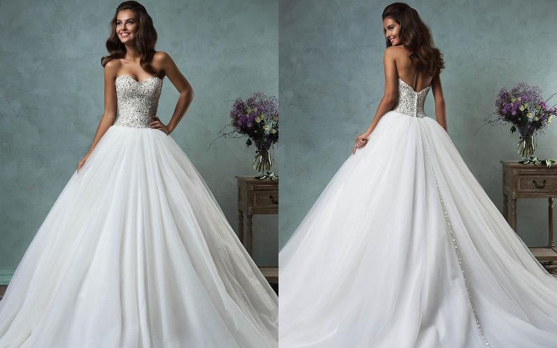 Весільні сукні пишні фото 10
