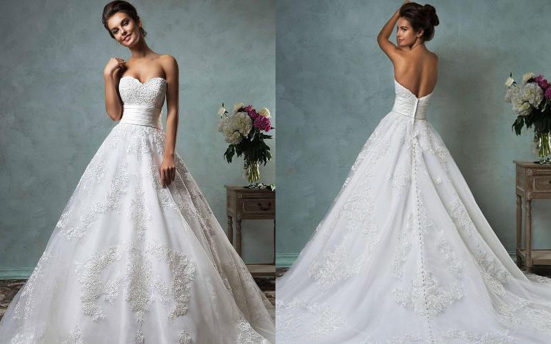Весільні сукні пишні фото 11