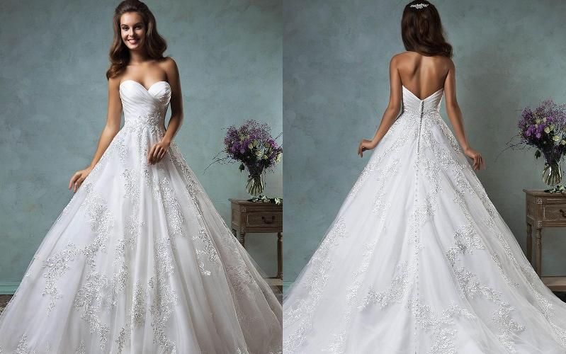 Весільні сукні пишні фото 12