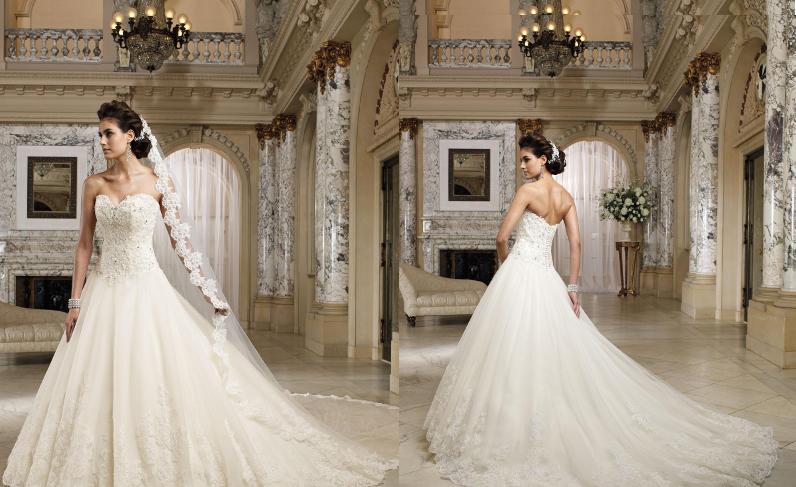 Весільні сукні пишні фото 12001