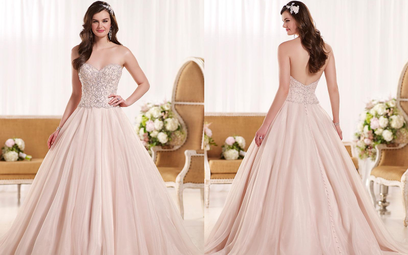 Весільні сукні пишні фото 12002