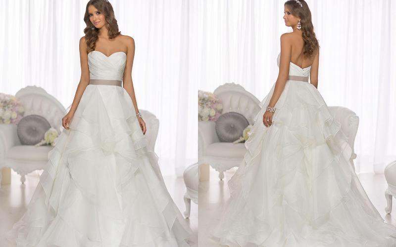 Весільні сукні пишні фото 3