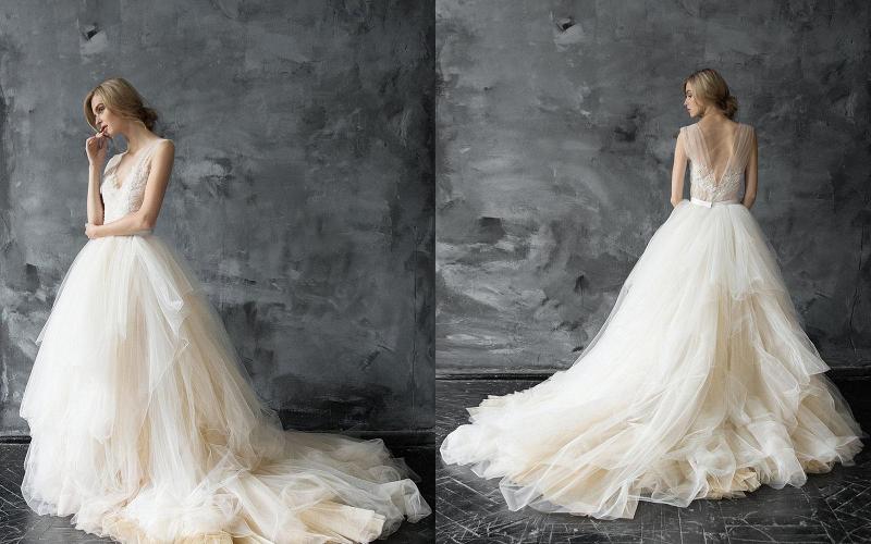 Весільні сукні пишні фото 5