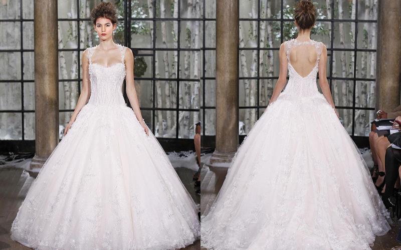 Весільні сукні пишні фото 9