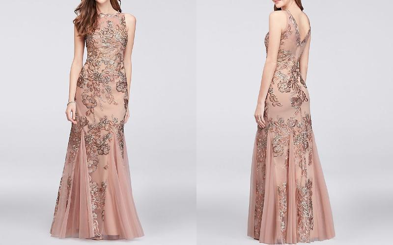 довге плаття фото 1