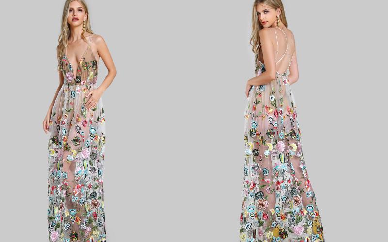 довге плаття фото 15