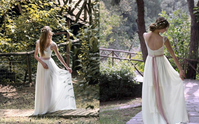 весільна сукня грецький стиль фото 7
