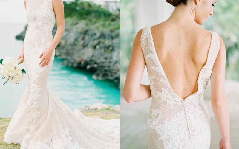 весільна сукня русалка фото 1