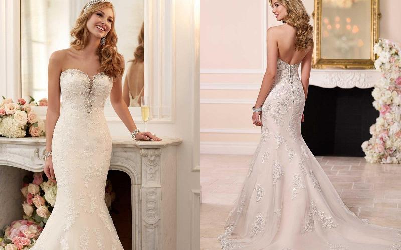 весільна сукня русалка фото 12