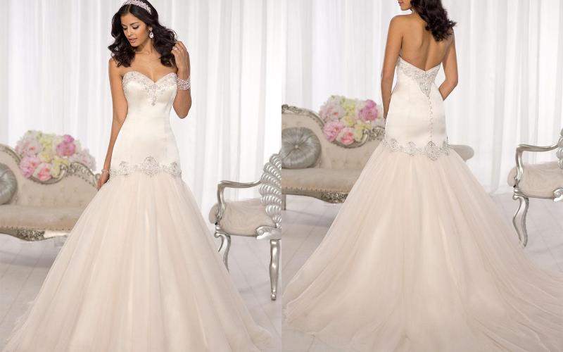 весільна сукня русалка фото 5