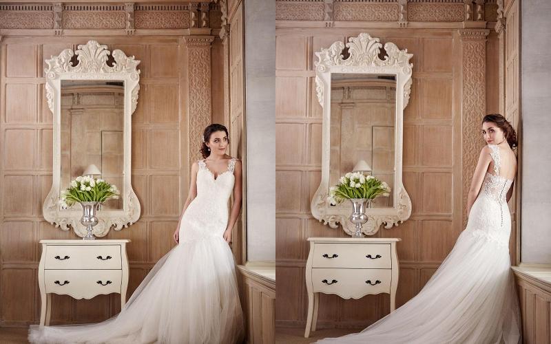 весільна сукня русалка фото 6