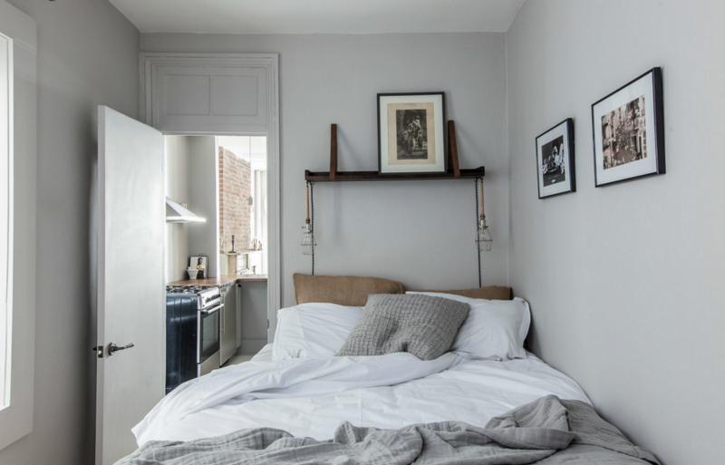 Дизайн інтер'єру маленької спальні