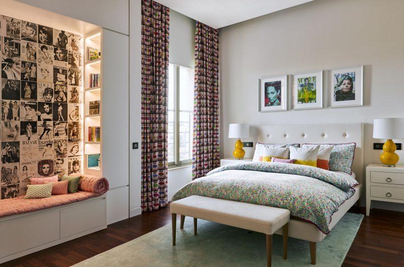 Фото дизайну спальної кімнати