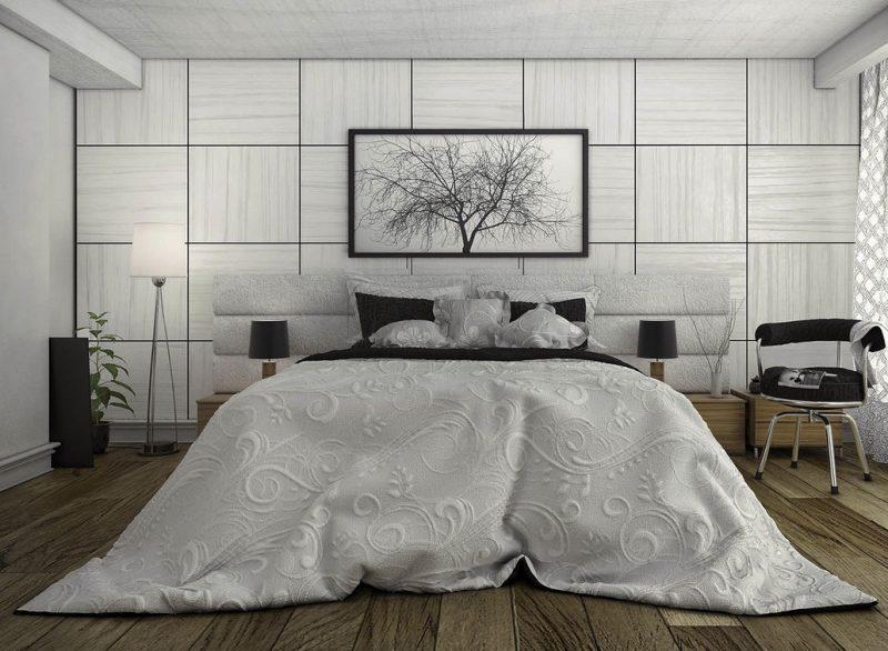 Фото сучасного дизайну спальної кімнати