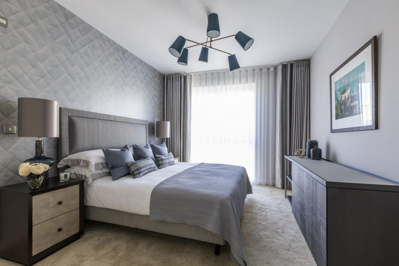 Інтер'єр спальні в сучасному стилі - фото 1