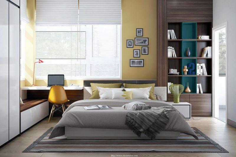 Інтер'єр спальні в сучасному стилі - фото 10