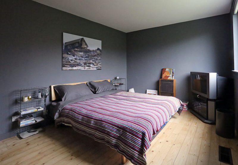 Інтер'єр спальної кімнати в сучасному стилі