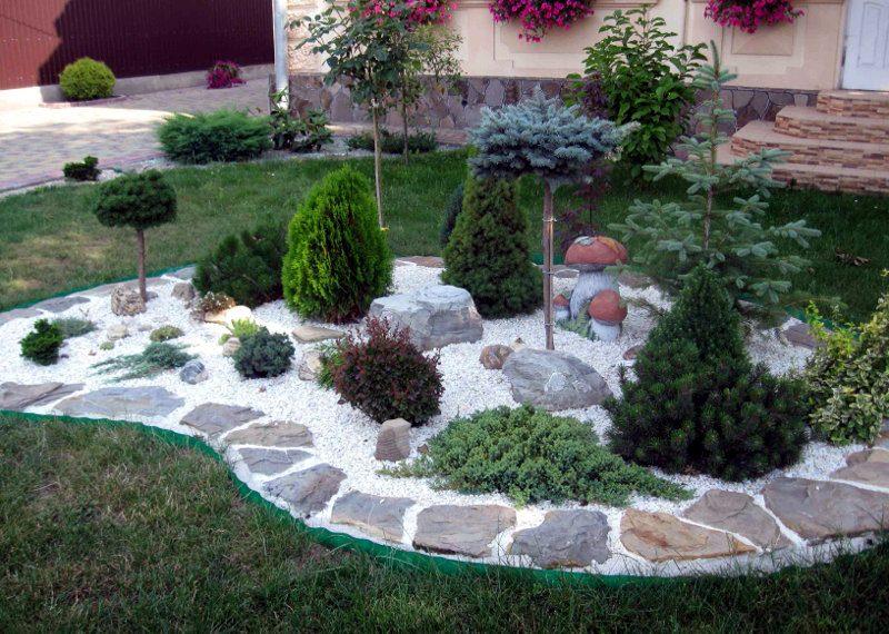 Ландшафтний дизайн клумб для квітів