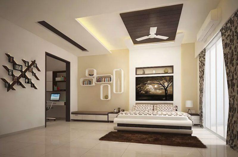 Простора спальня в сучасному стилі