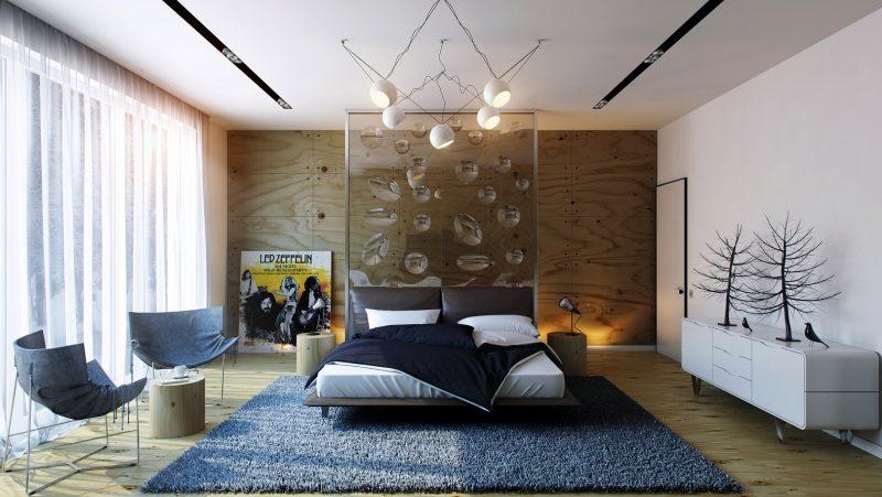 Розкішна спальня у сучасному стилі