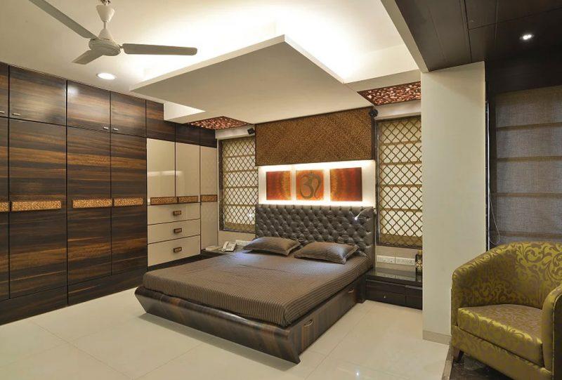 Спальня в сучасному стилі - фото інтер'єру