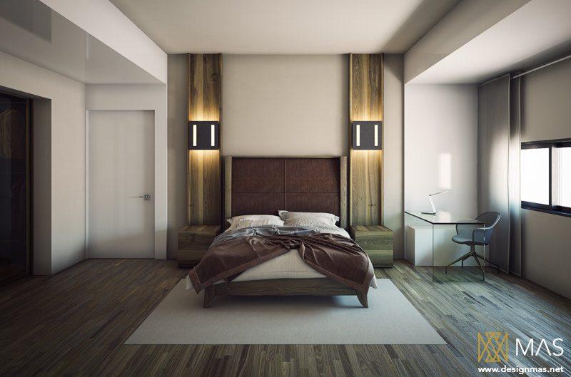Сучасний дизайн спальної кімнати