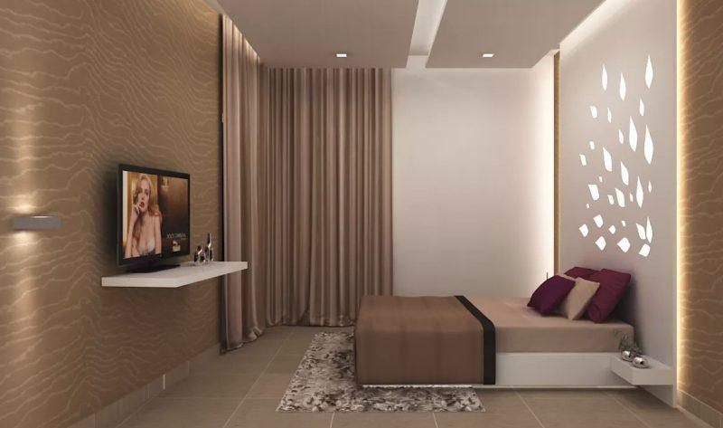 Сучасний інтер'єр спальні - фото 12
