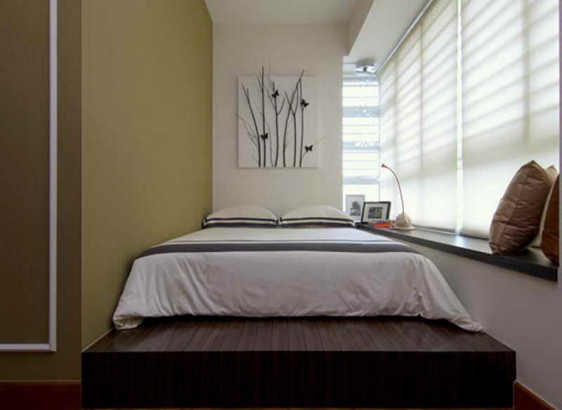Як оформити дуже маленьку спальню
