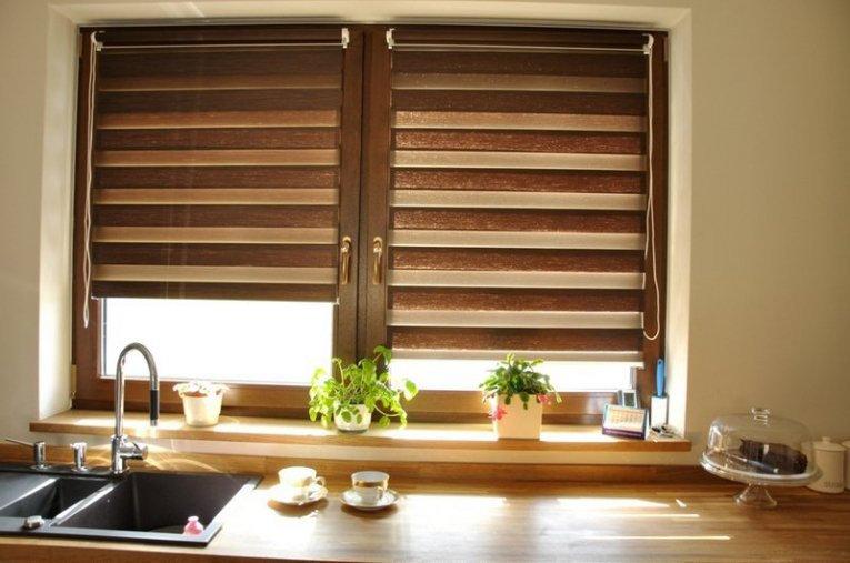 Рулонні штори для кухні - фото 51