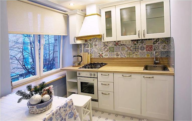 Рулонні штори на кухні - фото 53