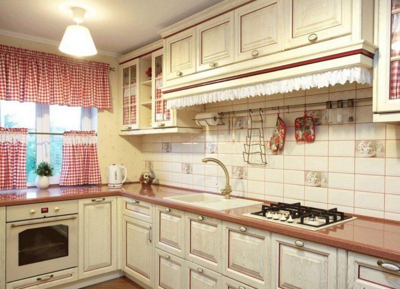 Штори на кухні - фото 26