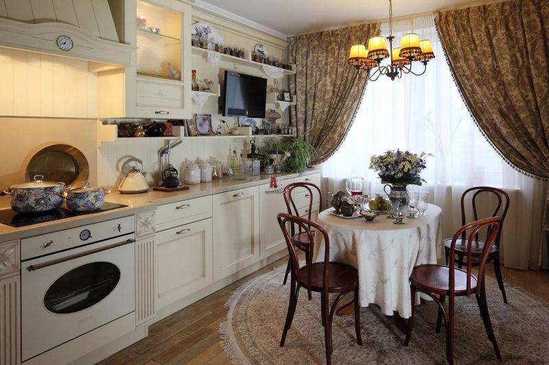 Штори на кухні - фото 27