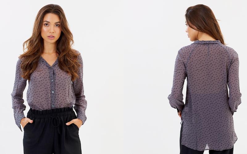 Жіночі блузки з шифону фото - 21