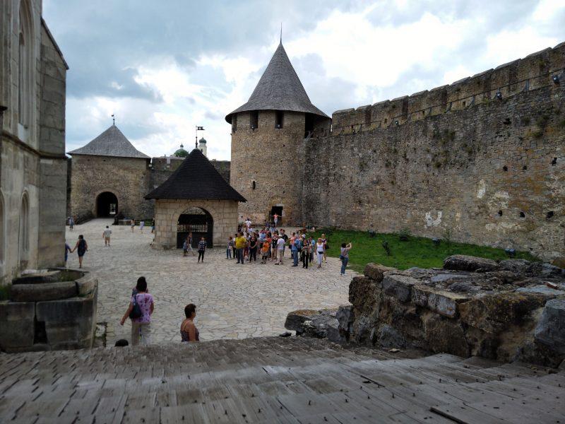 Екскурсії у хотинську фортецю
