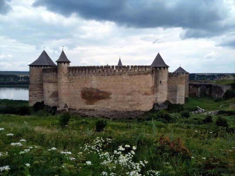 Фото хотинської фортеці