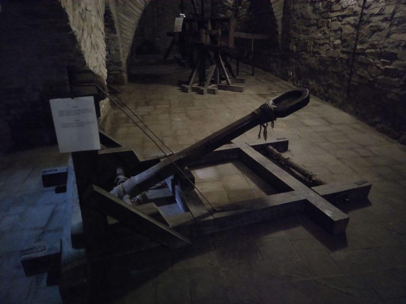 Катапульта у хотинській фортеці