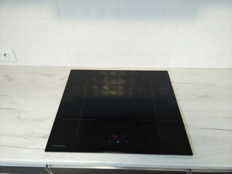 Індукційна плита - індикатор залишкового тепла