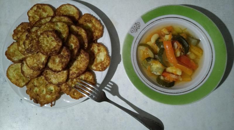 Страви з кабачків - рагу з кабачків і картоплі фото - 1