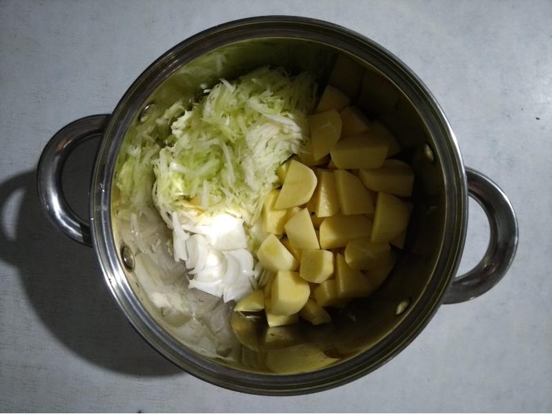 Страви з кабачків - рагу з кабачків і картоплі фото - 2