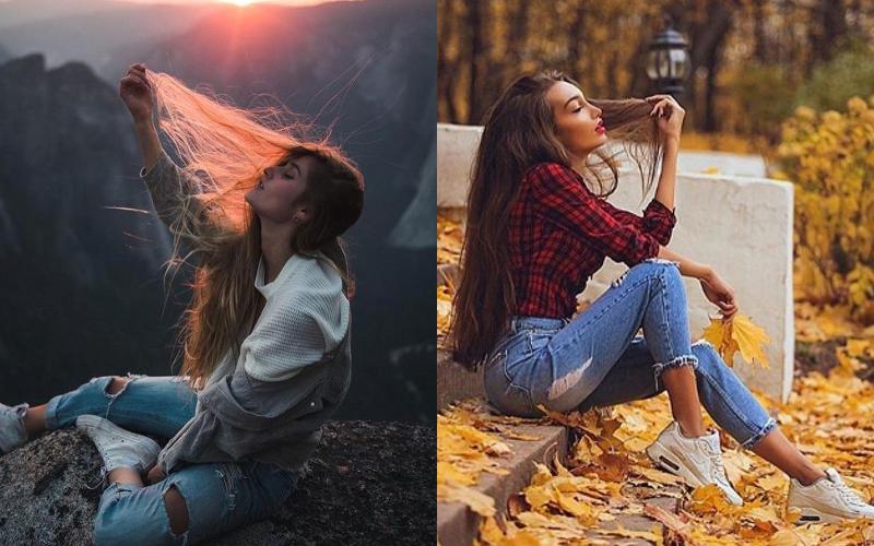 Осіння фотосесія дівчат фото - 18
