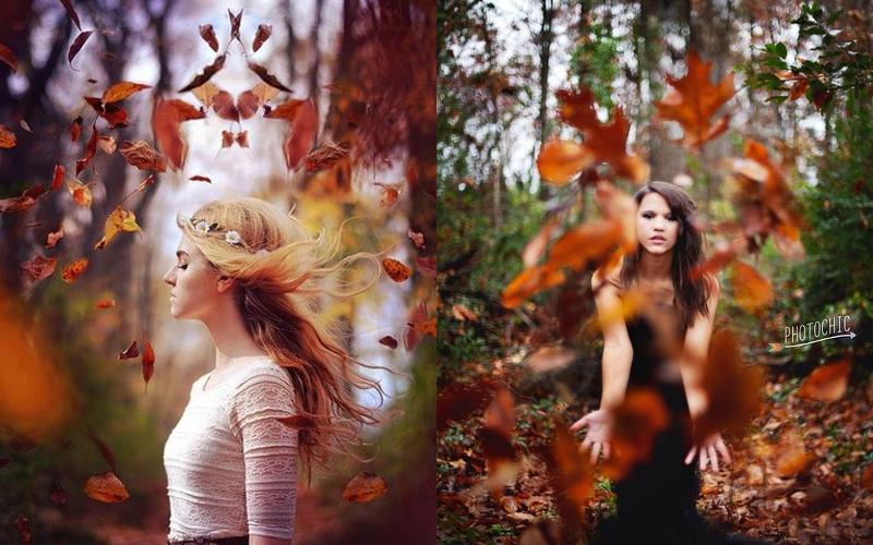Осіння фотосесія дівчат фото - 2