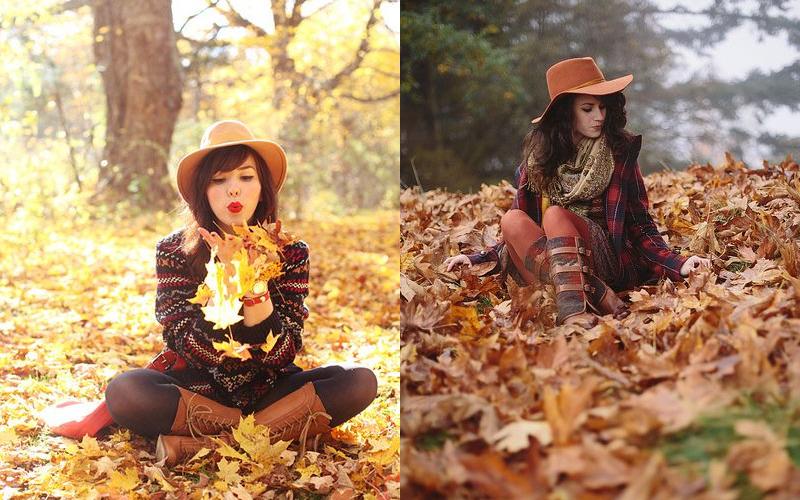 Осіння фотосесія дівчат фото - 4