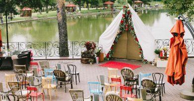 Фотозонна на весілля - ідеї як оформити фон для фото