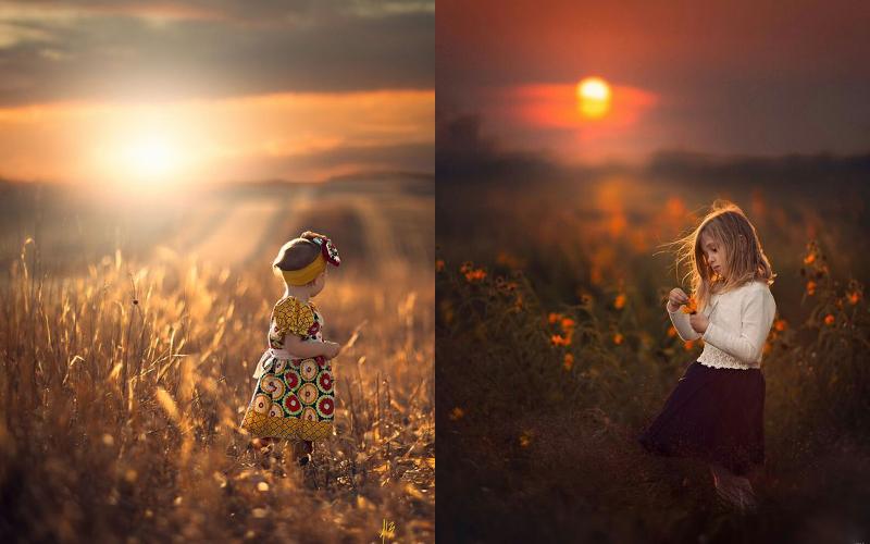 Осіння фотосесія дітей фото - 11