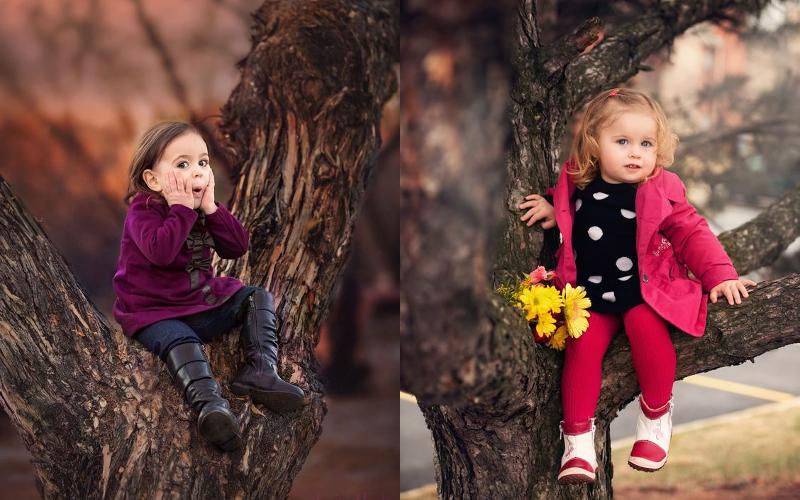 Осіння фотосесія дітей фото - 12
