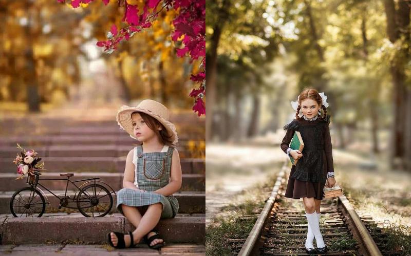 Осіння фотосесія дітей фото - 15