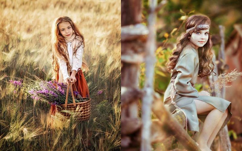 Осіння фотосесія дітей фото - 16
