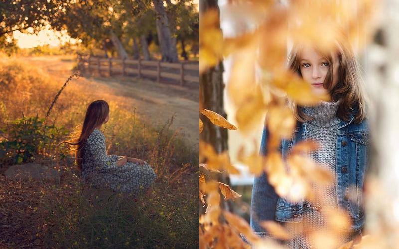 Осіння фотосесія дітей фото - 17