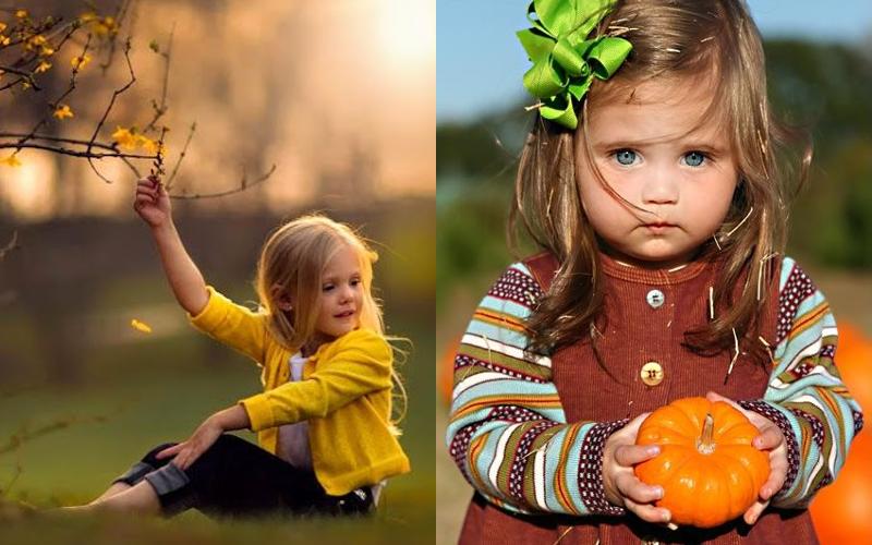 Осіння фотосесія дітей фото - 18