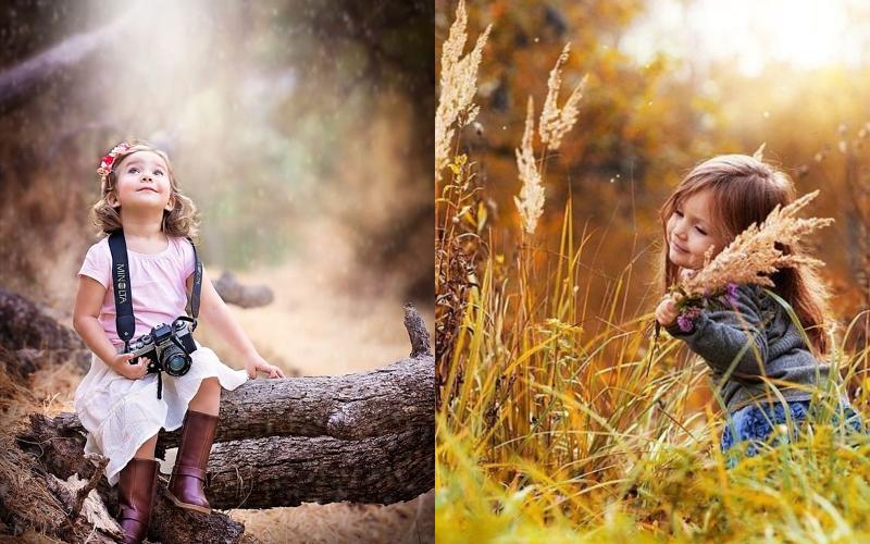 Осіння фотосесія дітей фото - 4